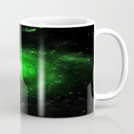 Spiral gAlaXy. Green Coffee Mug