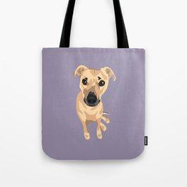 Lily Dog Tote Bag