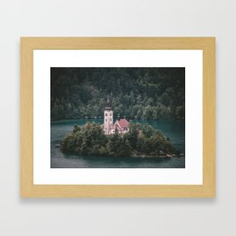 Lake Bled, Slovenia, 5 Framed Art Print