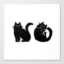 The NO Cat Canvas Print