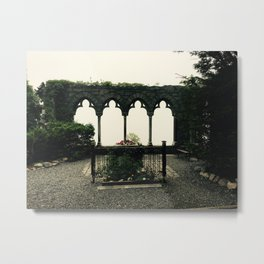 Hammond Castle Archways  Metal Print