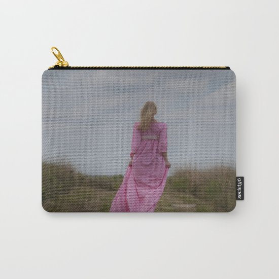 Waking on a rural path Carry-All Pouch