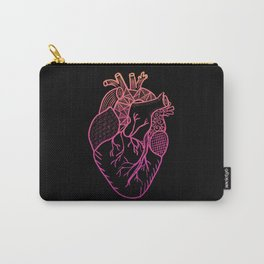 Designer Heart Colors Carry-All Pouch