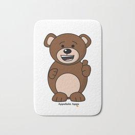 Bruno Bear Bath Mat