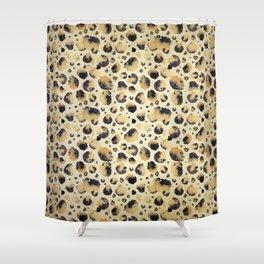 Faux Fur Shower Curtain