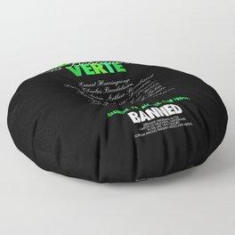 ABSINTHE VERTE Floor Pillow
