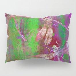 A Dragonflies QR Pillow Sham