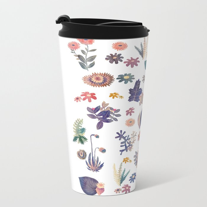 Nature all over Metal Travel Mug