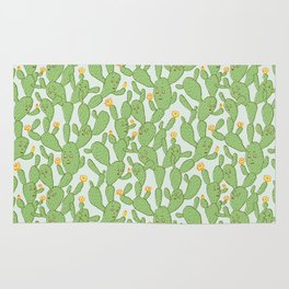 Happy Cactus | Pattern Rug