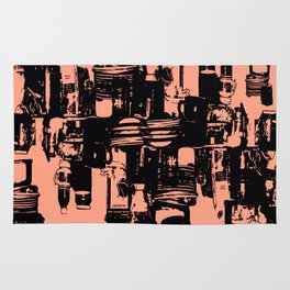 Dishes3 Rug