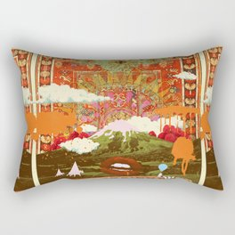 MORNING PSYCHEDELIA Rectangular Pillow