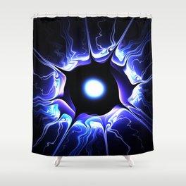 Ki Blast Shower Curtain