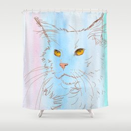 Magnificent Maine Coon Shower Curtain