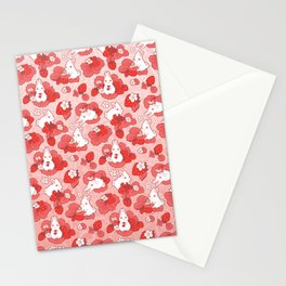 Strawbunny Delight Stationery Cards