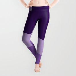 Two ways (Purple series) Leggings