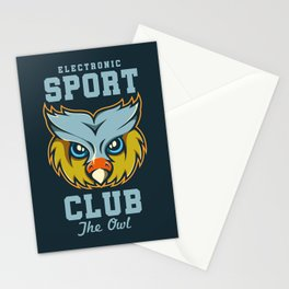 Electronic Sport Club Stationery Cards