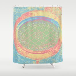 tower window II Shower Curtain