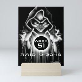 Area 51 Raid / Alien Wizard Mini Art Print