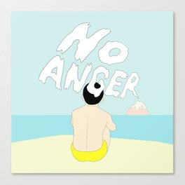 NO ANGER Canvas Print