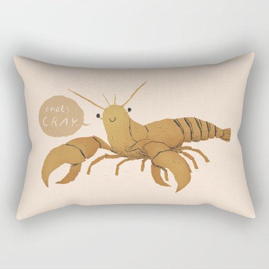 cray Rectangular Pillow