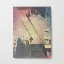 Crane redemption Metal Print