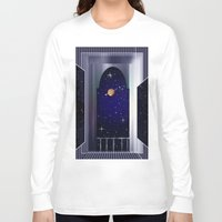"titan Long Sleeve T-shirts featuring House on ""Titan"" !  by capricorn"