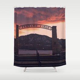 Farrand Field Shower Curtain