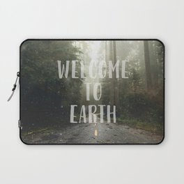 WELCOME TO EARTH Laptop Sleeve