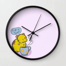 Cup a' Tea? Wall Clock