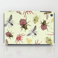 insects iPad Cases featuring Insects by Stag Prints