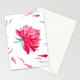 Peony / midday version Stationery Cards
