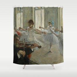 "Edgar Degas ""The rehearsal"" Shower Curtain"