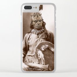 Sitting Maul Clear iPhone Case