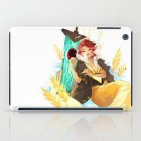transistor iPad Cases featuring See You in the Country - Transistor by Stephanie Kao
