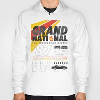 the national Hoodies featuring Grand National by CynthiaLeduc