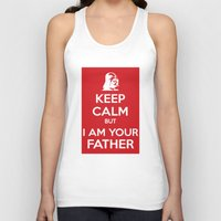 keep calm Tank Tops featuring Keep Calm by ubertwigg