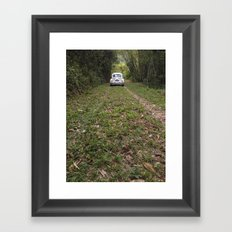 mutts and bugs Framed Art Print