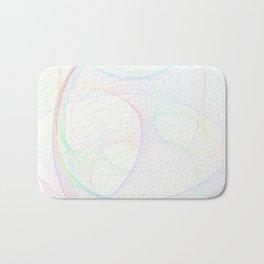 Zoomed Rings 1 Bath Mat