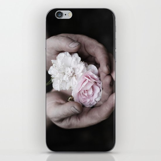 The wild flowers grows here iPhone Skin