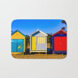 Brighton Bathing Boxes. Brighton. Melbourne. Australia. Bath Mat