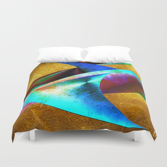 """ Home One ""  Duvet Cover"