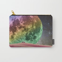 Rainbow Moonset Carry-All Pouch