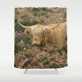 Highland Lad Shower Curtain