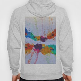 Abstract Composition 206 Hoody