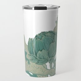 Artichokes by MojiMolly Travel Mug