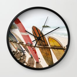 Surfing Day 2 Wall Clock