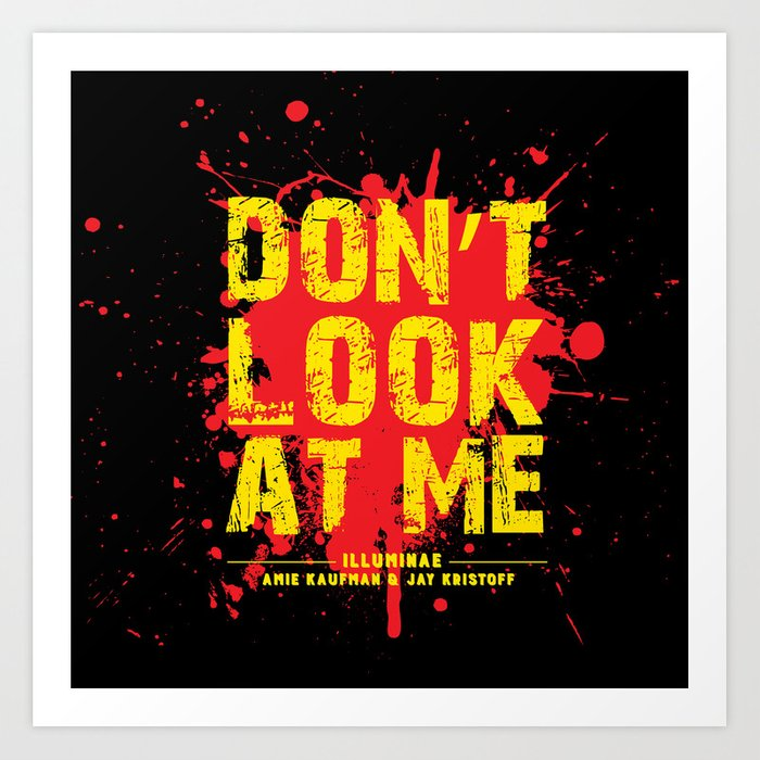 Image result for don't look at me illuminae