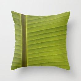 Banana Leaf II Throw Pillow