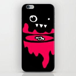 minimal decapitation iPhone Skin