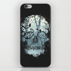 Dark Forest Skull iPhone & iPod Skin
